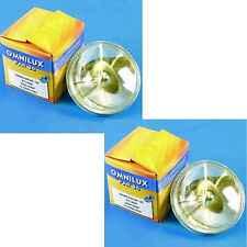 2 x OMNILUX PAR-36 6,4V/30W PAR 36 PIN SPOT PIN-SPOT Leuchtmittel OMNILUX