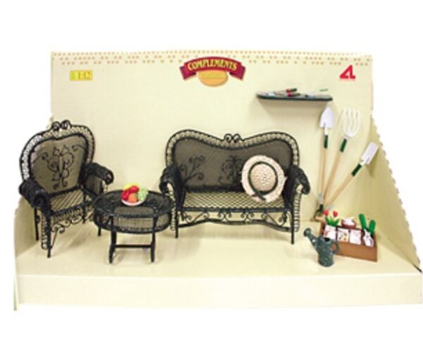 Artesania Latina - 98042 - Accessori Da Giardino Dolls House 1/12