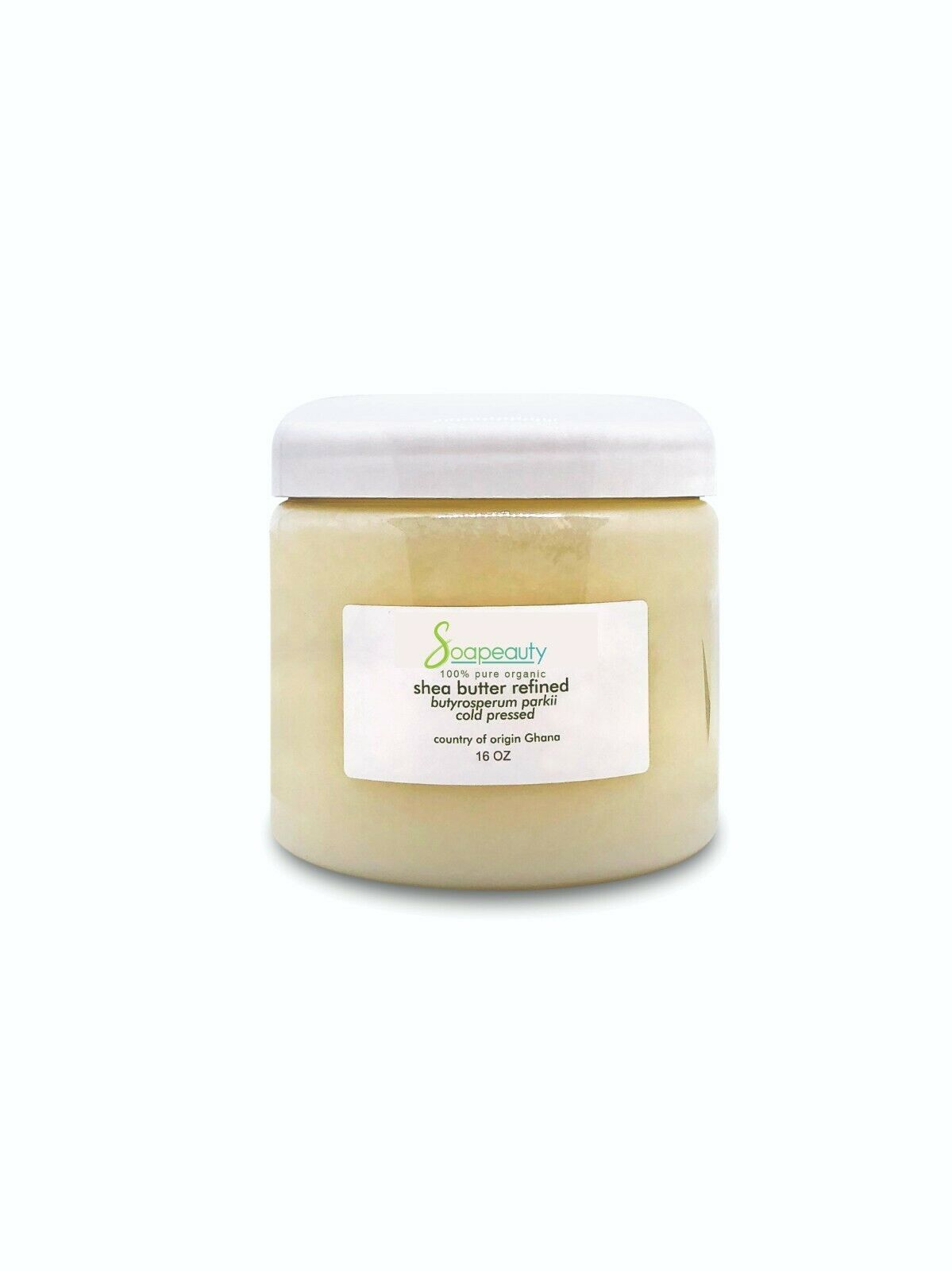 AFRICAN SHEA BUTTER REFINED organic cold pressed from GHANA Soapeauty 4 OZ