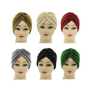 Musulmanes-Mujeres-Hombres-Sombrero-Invierno-Otono-Craneo-Casquillo-Turbante