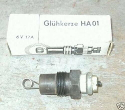 Glühkerze Sirokko HA01 Barkas Standheizung Heizung B1000 6 V DDR