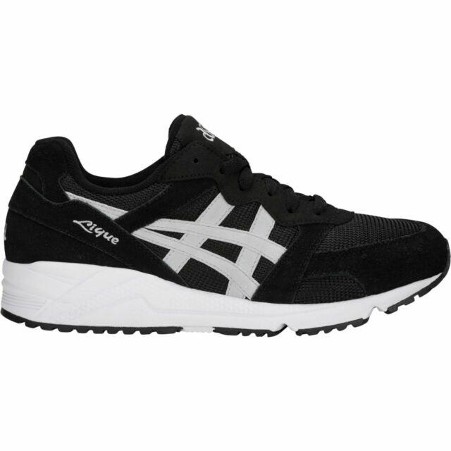newest ce0ce c3a06 Asics H6K0L 001 GEL Lique Black Glacier Grey Men's Sneakers