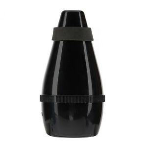 Light-weight-Plastic-Trumpet-Mute-Silencer-Practice-Black-AD