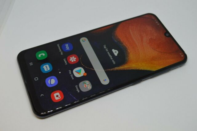 Samsung Galaxy A50  64GB SM-A505U1 UNLOCKED GSM AT&T VERIZON TMOBILE #L450
