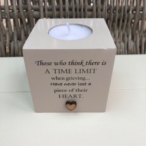 PERSONALISED Candle In Memory of a Loved one Nanna Mum Nana Dad etc BEREAVEMENT