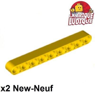 ⭐️4 x BRAND NEW LEGO 40490 LIFTARM 1 x 9 THICK 4187136⭐️ YELLOW