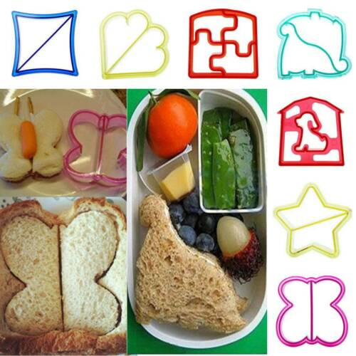 Lunch Kids Sandwich Toast Cookie Cake Bread Biscuit Food Cutter Mold Mould DIY