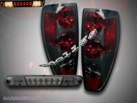 04-10 Chevy Colorado / Gmc Canyon Tail Lights Smoke+ 04-08 Led Brake Light Comb