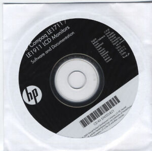 HP-Compaq-LE1711-LE1911-LCD-Monitor-Software-and-Documentation-disc