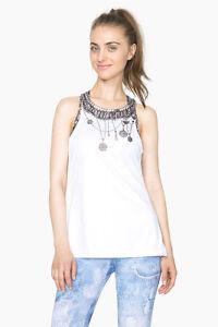 shirt Sommer Sport Blanco ts Desigual Y kollektion a Tank Frühj Dress Tank PHxwpq7t