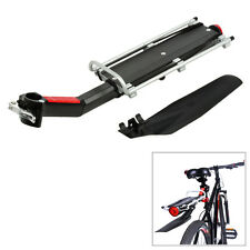 Red Bicycle Mountain Bike Rear Rack Seat Post Mount Luggage Carrier