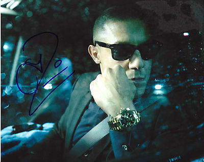Entertainment Memorabilia Cheap Price Theo Rossi Hand Signed Authentic 'luke Cage' Shades 8x10 Photo B W/coa Actor