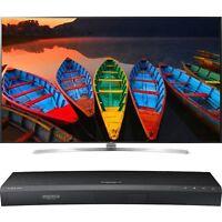 Lg 75uh8500 Series 75 Class Uhd Smart Ips Led Tv- Blueray/hdmi Bundle