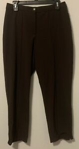 Zenergy-by-Chico-039-s-Brown-Pants-Chico-s-Size-0-5