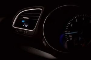 P3 Cars Integrated Boost Vent Gauge VW Volkswagen Passat CC