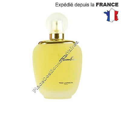 Parfum Femme Rumba TED LAPIDUS Eau de Toilette 100ml Vaporisateur Neuf!!
