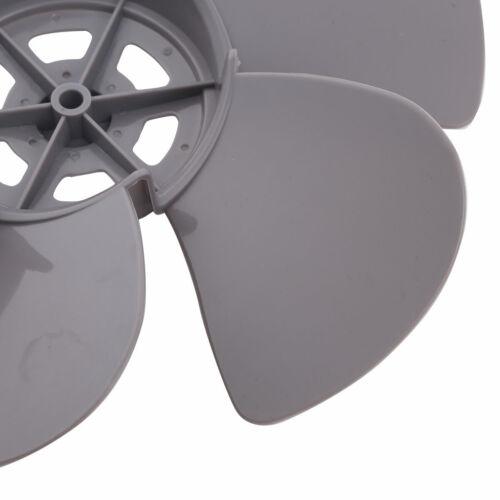 12//16 inch Plastic Fan Blade Three Leaves/&Fan Nut Table Pedestal Fan Accessories