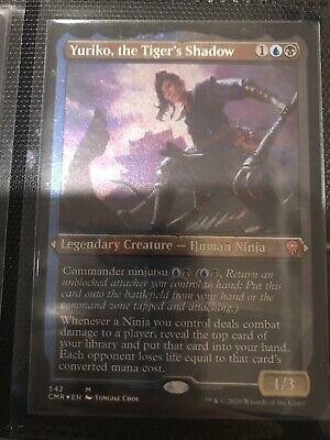 1x Yuriko the Tiger/'s Shadow Foil Etched MTG Commander Legends Magic English