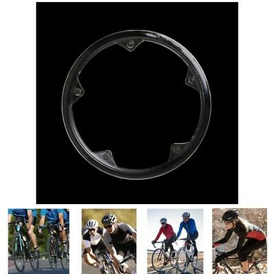 Bicycle Crankset Accessories Plastic Chain Wheel Guard Ring Cover Protective Cap