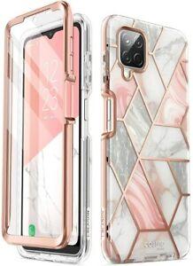 i-Blason Cosmo For Samsung Galaxy A12 Full-Body Case Protective Screen Cover UK