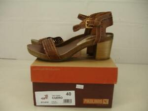 Leather Pikolinos 5 40 Womens Praga 9747 Sandals 871 9 Brown 10 thCBrdxsQ