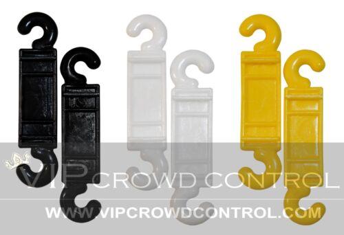VIP CROWD CONTROL REPLACEMENT C-HOOK PLASTIC STANCHION