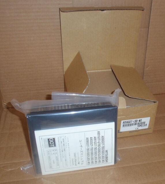 A956GOT-LBD-M3 Mitsubishi PLC HMI Touchscreen Interface NEW In Box A956GOTLBDM3