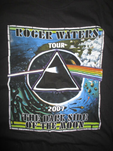 """2007 ROGER WATERS """"Dark Side of the MOON"""" Concert Tour (LG) T-Sh"""
