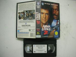 Arma-Letale-2-1989-VHS-Italienisch