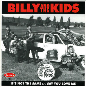 BILLY-amp-THE-KIDS-It-039-s-Not-The-Same-vinyl-7-034-NEW-garage-punk-Back-From-The-Grave