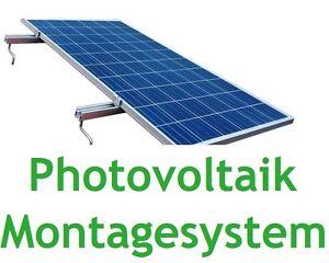 Photovoltaik-zubehör Heimwerker Pv Halterung Module Montage Solarbefestigung Dachhaken Stockschrauben Bis 4,2m Sturdy Construction