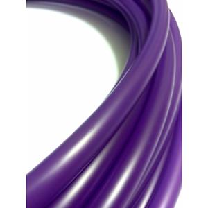 UV Purple colord Polypro Dance Hoop- Adult, Advanced, Performance- Neon Glow