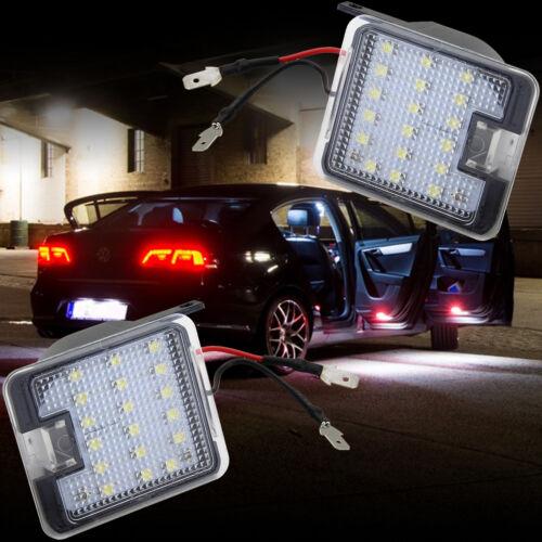 helle LED Umfeld Pfützen Spiegel Beleuchtung für Ford Focus Mondeo 4 CMax 7908