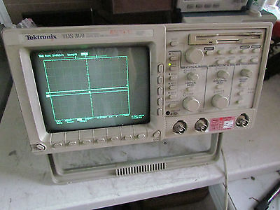 Analytical Tektronix Tds360 Digital Oscilloscope 200mhz,1gs/s 2 Ch Catalogues Will Be Sent Upon Request Collectibles