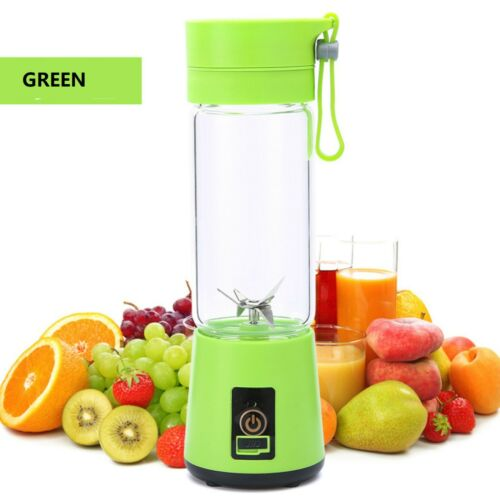 Portable Mini Blender Smoothie Juicer Cup Personal cup USB Rechargeable 6 Blades