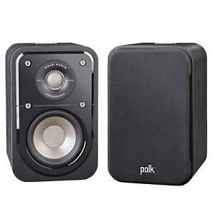 Polk-Audio-Signature-S10-Hi-Fi-Compact-Satellite-Surround-Speaker-Pair