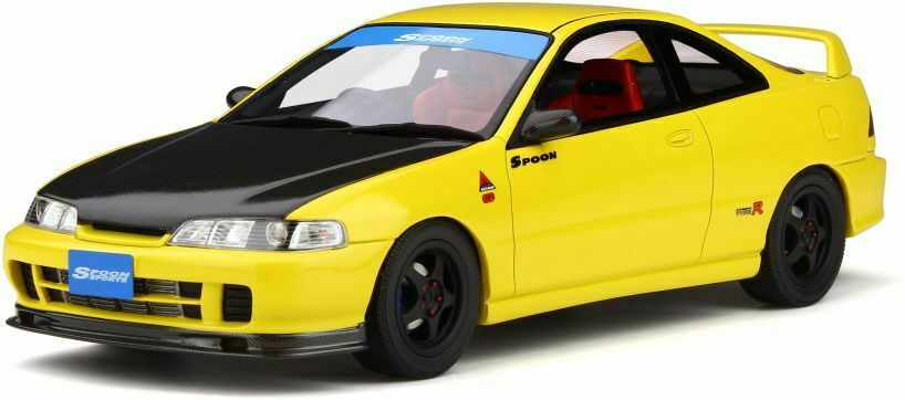 OTTO MOBILE 792 HONDA INTEGRA DC2 SPOON resin model car Sunlignt yellow Ltd 1 18