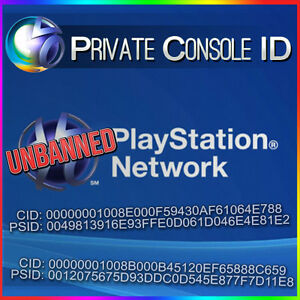 Details about PS3 Console ID + PSID IDPS Unban 100% private Delivery Time  10-30Minte