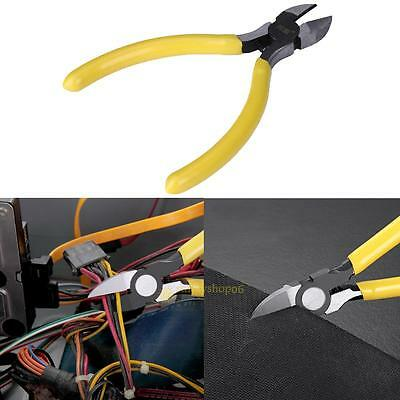 4.6'' Wire Cutter Cable Pliers Diagonal Side Cutting Plier Wire Stripper Tool