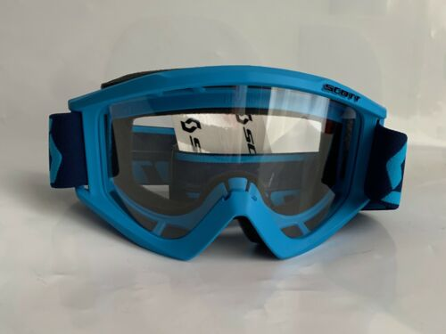Scott Motocross Goggle MX Recoil Xi Adult  Blue ATV UTV CR YZ KX KTM RM