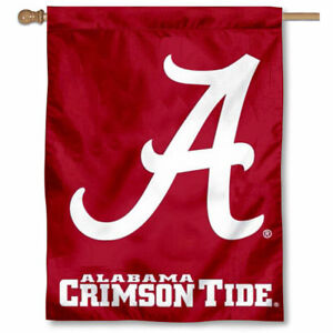 Alabama Crimson Tide A Logo House Banner Flag