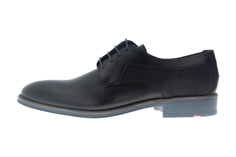 Lloyd Genève Affaires-Chaussures Dans Grandes Tailles Noir Bleu 19-059-11 Grande hommesschu