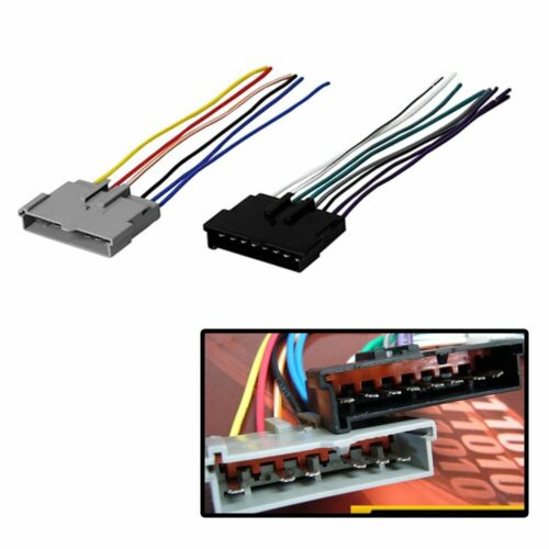 Car stereo cd player FWH594 Radio Wiring Harness compatible with Ford 85-07