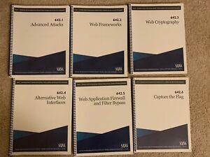 SANS-SEC642-Books-w-USB-2020-Version-International-Shipping