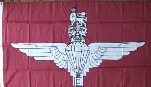 Paras Flag Parachute Regiment Iraq Afghanistan War Armed Forces Day veterans bn