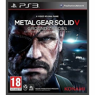 Metal Gear Solid V Ground Zeroes  DVD NEW