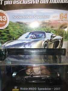 NOBLE-M600-SPEEDSTER-2017-SUPERCARS-GT-COLLECTION-1-43-64-DIE-CAST-MIB