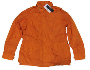 $295 Polo Ralph Lauren Mens Lightweight Combat Zip Orange