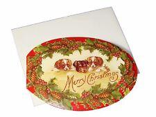 item 1 punch studio 5 3d die cut christmas cards envelopes puppy trio 60808 5 x 35 punch studio 5 3d die cut christmas cards envelopes puppy trio
