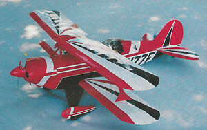 Details about 1/6 Scale Pitts S2A Aerobatic Biplane Plans, Templates and  Instructions 41ws